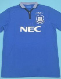 Shirt Front, Everton 1995 FA Cup Final Home Short-Sleeve