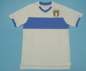 Shirt Front, Italy 1998-2000 Away White Short-Sleeve