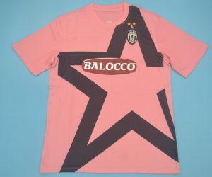 Shirt Front, Juventus 2011-2012 Away Rose Short-Sleeve