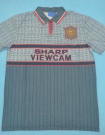 Shirt Front, Manchester United 1995-1996 Away Short-Sleeve
