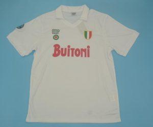 Shirt Front, Napoli 1987-1988 Away Short-Sleeve