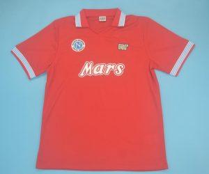 Shirt Front, Napoli 1988-1989 Third Short-Sleeve