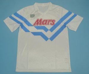 Shirt Front, Napoli 1989-1990 Away Short-Sleeve