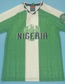 Shirt Front, Nigeria 1996-1998 Home Short-Sleeve