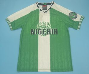 Shirt Front, Nigeria 1996-1998 Home Short-Sleeve