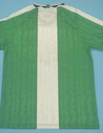 Shirt Back Blank, Nigeria 1996-1998 Home Short-Sleeve