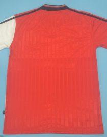 Shirt Back Blank, Rangers 1995-1996 Away Short-Sleeve