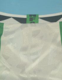 Shirt Collar Back, Nigeria 1996-1998 Home Short-Sleeve