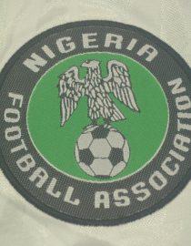 Nigeria Sleeve Logo, Nigeria 1996-1998 Home Short-Sleeve