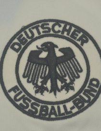 Shirt Germany Emblem, Germany 1980 Home Short-Sleeve