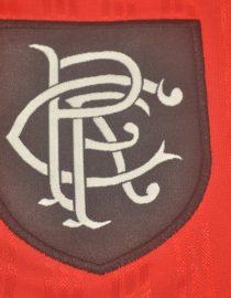 Shirt Rangers Logo, Rangers 1995-1996 Away Short-Sleeve