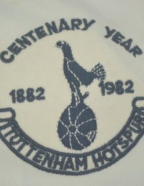 Shirt Tottenham Hotspurs Logo, Tottenham 1982-1983 Centenary Home Short-Sleeve