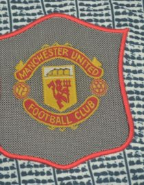 Shirt Manchester United Logo, Manchester United 1995-1996 Away Short-Sleeve