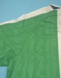 Shirt Sleeve, Nigeria 1996-1998 Home Short-Sleeve