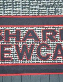 Shirt Sharp Emblem, Manchester United 1995-1996 Away Short-Sleeve