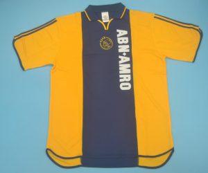 Shirt Front, Ajax Amsterdam 2000-2001 Away Short-Sleeve