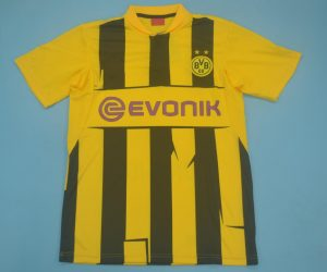 Shirt Front, Borussia Dortmund 2012-2013 Home Cups UCL Short-Sleeve Kit