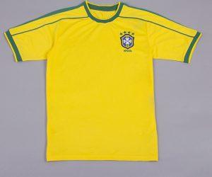 Shirt Front, Brazil 1998 Home Short-Sleeve Kit