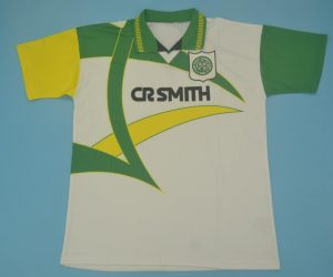 Shirt Front, Celtic Glasgow 1994-1996 Away Short-Sleeve Jersey