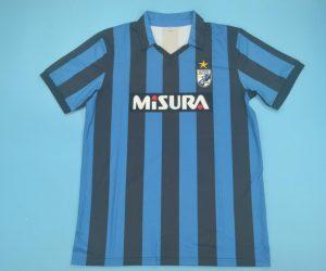 Shirt Front, Inter Milan 1989-1990 Home Short-Sleeve