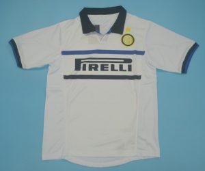 Shirt Front, Inter Milan 1998-1999 Away Short-Sleeve