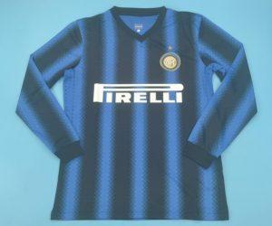Shirt Front, Inter Milan 2010-2011 Home Long-Sleeve