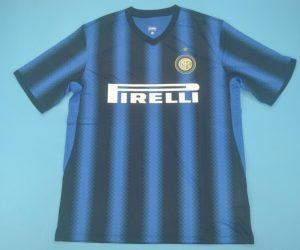 Shirt Front, Inter Milan 2010-2011 Home Short-Sleeve
