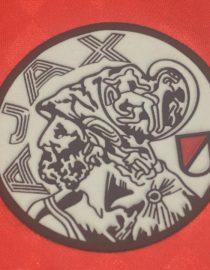 Shirt Ajax Logo, Ajax Amsterdam 1988-1990 Home Short-Sleeve