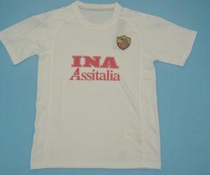 Shirt Front, AS Roma 2000-2001 Away Short-Sleeve Kit