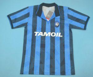 Shirt Front, Atalanta 1991-1992 Home Short-Sleeve