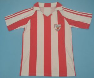 Shirt Front, Athletic Bilbao 1983-1984 Home Short-Sleeve