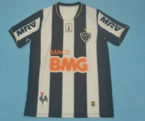 Shirt Front, Atletico Mineiro 2013 Home Short-Sleeve