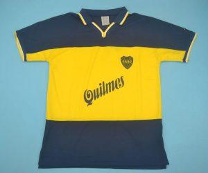 Shirt Front, Boca Juniors 1998-1999 Home Short-Sleeve