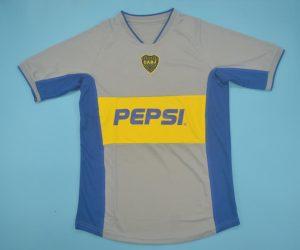 Shirt Front, Boca Juniors 2002-2003 Away Short-Sleeve Jersey