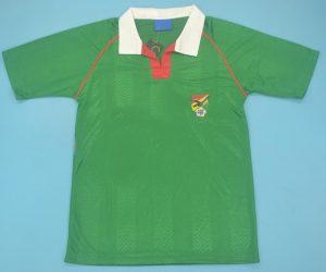 Shirt Front, Bolivia 1994 Home Short-Sleeve Kit