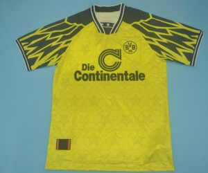 Shirt Front, Borussia Dortmund 1994-1995 Home Short-Sleeve Kit