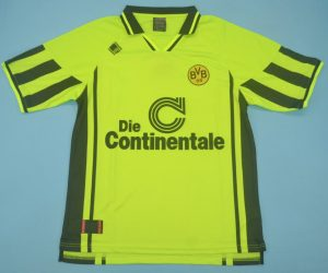 Shirt Front, Borussia Dortmund 1996-1997 Home Short-Sleeve
