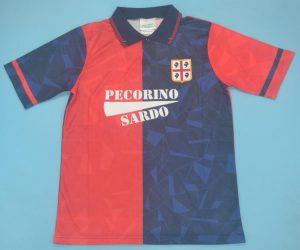 Shirt Front, Cagliari 1992-1993 Home Short-Sleeve Kit