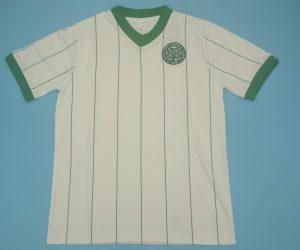 Shirt Front, Celtic Glasgow 1982-1983 Away Short-Sleeve Kit