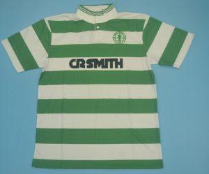 Shirt Front, Celtic Glasgow 1987-1989 Home Short-Sleeve Kit