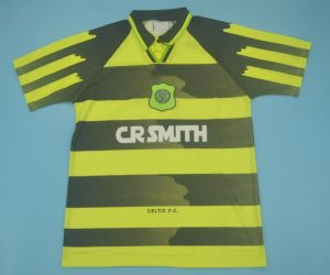 Shirt Front, Celtic Glasgow 1996-1997 Away Short-Sleeve Jersey