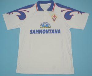 Shirt Front, Fiorentina 1995-1996 Away Short-Sleeve