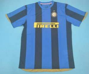 Shirt Front, Inter Milan 2008-2009 Home Short-Sleeve Kit