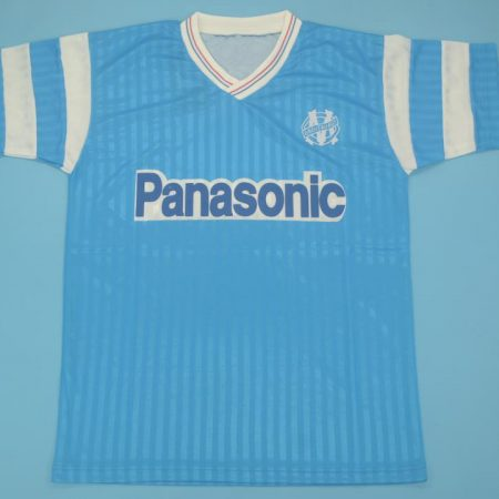 Olympique de Marseille 1990-1991 Away Short Sleeve Football Shirt [As worn by Abedi Pelé, Cantona & Papin]