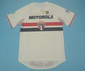 Shirt Front, Sao Paulo 2000 Home Short-Sleeve Kit
