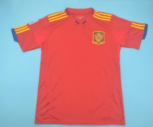 Shirt Front, Spain 2010 Home Short-Sleeve