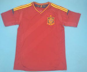 Shirt Front, Spain 2012 Home Short-Sleeve Kit