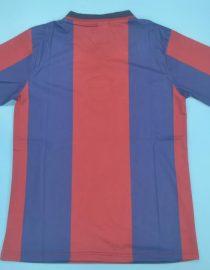 Shirt Back Blank, Barcelona 1998-1999 Home Short-Sleeve