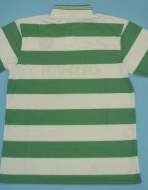 Shirt Back Blank, Celtic Glasgow 1987-1989 Home Short-Sleeve Kit