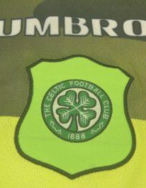 Shirt Celtic Logo, Celtic Glasgow 1996-1997 Away Short-Sleeve Jersey